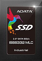 """SSD 256GB, 2.5"""" SATA III, /24/7 Dauerbetrieb, ADATA ISSS332, -10°C ~ 80°C"""