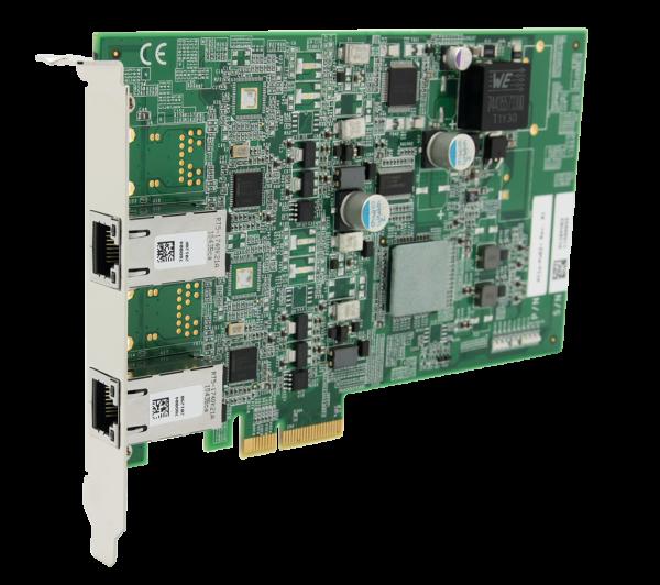 2-port GigE, PoE, PCIe, /Intel® 82574L