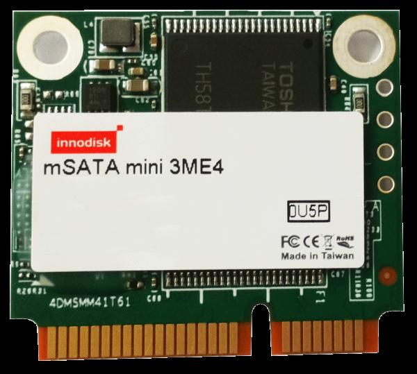SSD 64GB, mSATA mini MO-300B, SATA III, /24/7 Dauerbetrieb, INNODISK 3ME4, 0°C ~ 70°C